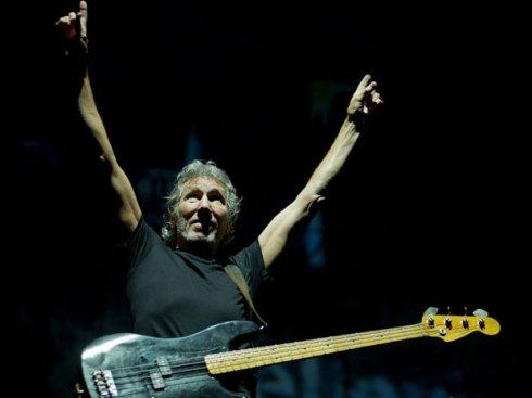 Ex-líder do Pink Floyd abre o show em São Paulo neste domingo no Morumbi (Foto: Flavio Morais/G1)
